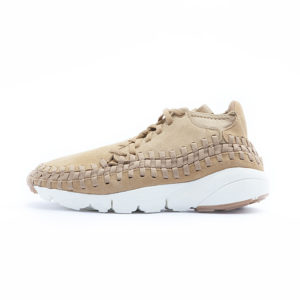 Zapatilla nike Footscape Woven Chukka Flax Flax Sail Gum Medium Brown