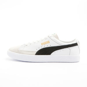 Zapatilla Puma Basket 90680 White Black