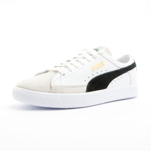 Sneaker Puma Basket 90680 White Black