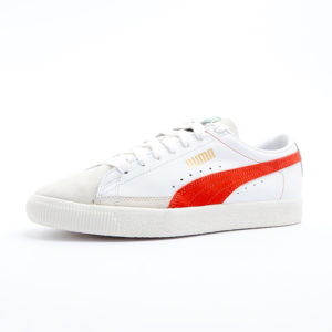 Sneaker Puma Basket 90680 White Orange