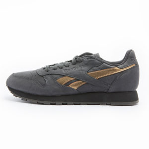 Zapatilla Reebok Classic Leather TU Coal Gold