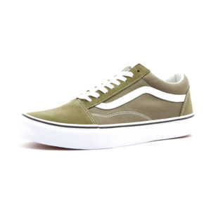 Sneaker Vans Old Skool Winter Moss True White