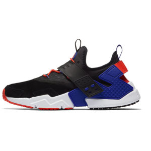 Zapatilla Nike Air Huarache Drift Premium Black Rush Violet Rush Orange