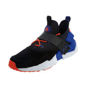Sneaker Nike Air Huarache Drift Premium Black Rush Violet Rush Orange