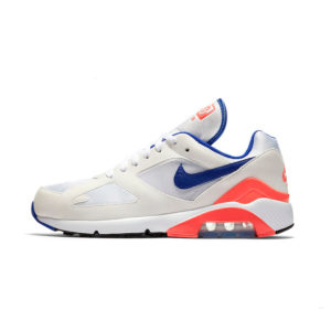 Zapatilla Nike Air Max 180 White Ultramarine Solar Red