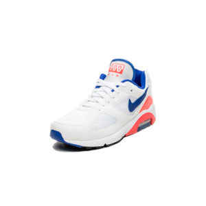Sneaker Nike Air Max 180 White Ultramarine Solar Red