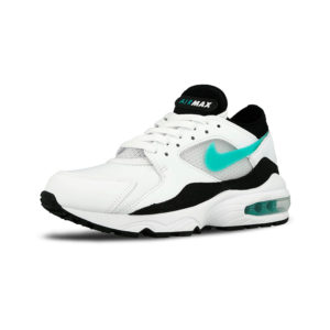 Zapatilla Nike Air Max 93 White Sport Turbo Black