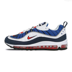 Zapatilla Nike Air Max 98 White University Red Obsidian