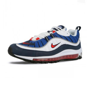 Sneaker Nike Air Max 98 White University Red Obsidian