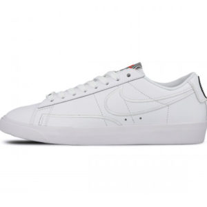Zapatilla Nike Blazer Low SE LX White White Black Speed Red