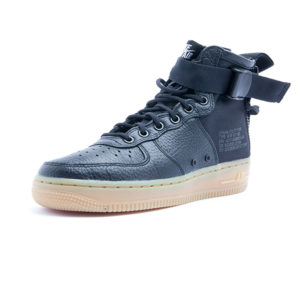 Sneaker Nike SF AF 1 Mid Black Black Gum Light Brown