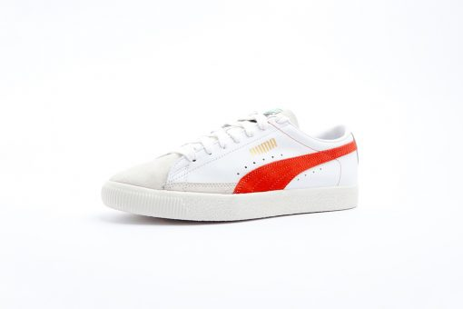 Sneaker Puma Basket 9068 Puma White Orange