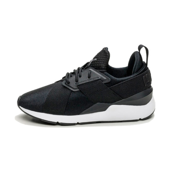 Zapatilla Puma Muse Satin EP Puma Black Puma White