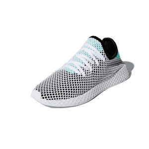 Sneaker Adidas Deerupt Runner Core Black Easy Green Ftwr White