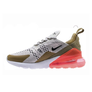 Zapatilla Nike W Air Max 270 Flat Gold Light Bone White Black