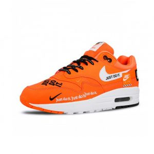 Sneaker Wmns Nike Air Max LX Just Do It Total Orange White Black