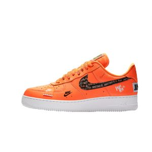 Zapatilla Nike Air Force 1 ´07 Premium JDI Total Orange Total Orange