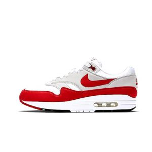 Zapatilla Nike Air Max 1 Anniversary White University Red Neutral Grey Black