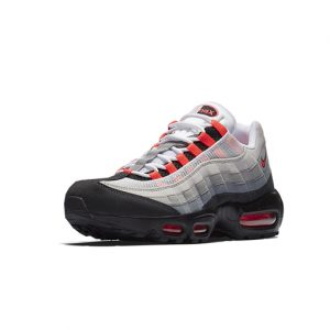 Sneaker Nike Air Max 95 OG White Solar Red Granite Dust