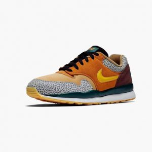 Sneaker Nike Air Safari SE Monarch Yellow Ochre Flax Mahogany mink