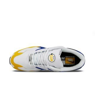 Zapatilla Nike Air Max2 Light Premium White White University Gold Game Royal BV0987 102