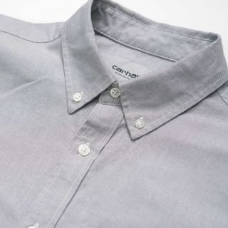 Camisa Carhartt WIP Button Down Pocket Shirt Shiver I022069 173