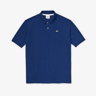 Polo Lacoste LIVE Loose Fit Navy