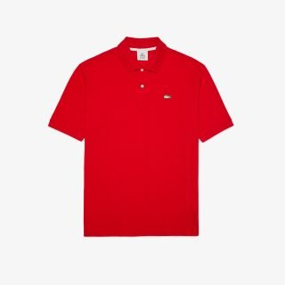 Polo Lacoste LIVE Loose Fit Red