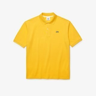 Polo Lacoste LIVE Loose Fit Yellow
