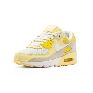 Sneaker Nike Air Max 90 Opti Yellow White Fossil Bicycle Yellow