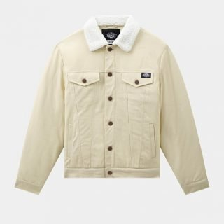 Chaqueta Dickies Marksville Trucker Light Taupe