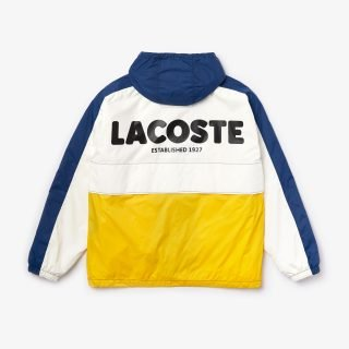 Windbreaker Lacoste LIVE White