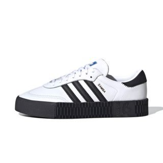 Zapatilla Adidas Sambarose Cloud White Core Black Blue Bird