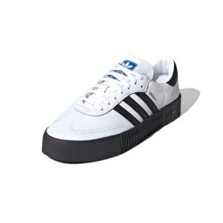 Sneaker Adidas Sambarose Cloud White Core Black Blue Bird