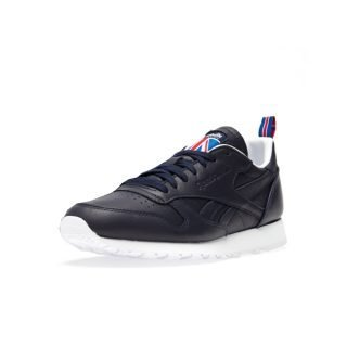 Sneaker Reebok Classic Leather Vector Navy White Vector Red