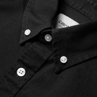 Shirt Carhartt Wip L/S Madison Shirt Black Wax