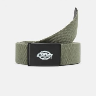 Cinturón Dickies Orcutt Logo Buckle Belt Army Green