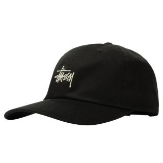 Gorra Stussy Stock Low Pro Cap Black