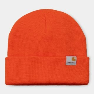 Gorro Lana Carhartt Wip Stratus Hat Low Safety Orange