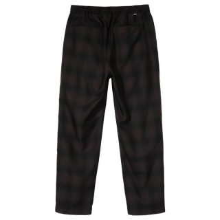 Pantalón Stussy Shadow Plaid Bryan Pant Brown Black 116446