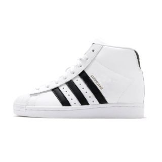 Zapatilla Adidas Superstar Up Cloud White Core Black Gold Metallic
