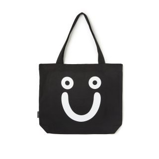 Bolso Polar Skate Co Happy Sad Tote Bag Black