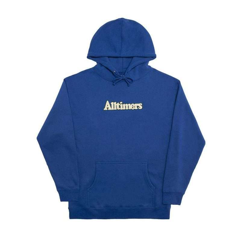 Sudadera Alltimers Broadway Embroidered Hoody Azul