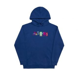 Sudadera Alltimers Embroidered Sin Good Hoody Royal Blue