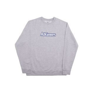 Sudadera Alltimers Embroidered Broadway Crew Heather Grey
