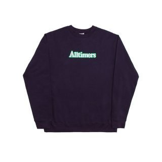 Sudadera Alltimers Embroidered Broadway Crew Navy