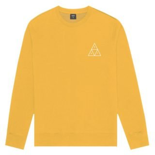 Sweatshirt Huf Essentials TT Crew Sweatshirt Electric Orange