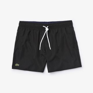 Bañador Lacoste Light Quick Dry Swim Short Black