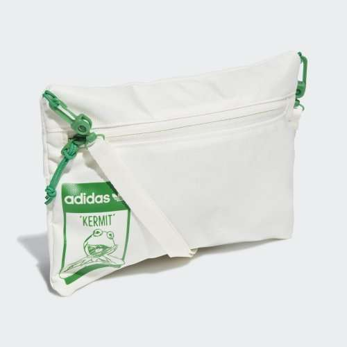 Bag Adidas Kermit Pouch M White Green
