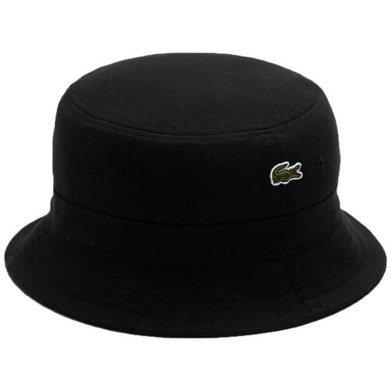 Bucket Lacoste Bob Hat Black